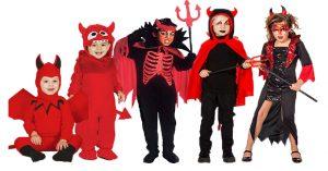 Kinderschminken Teufel