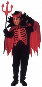 Gruseliges Teufelkostüm für Kinder