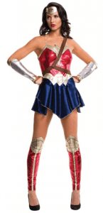 Wonder Woman Damenkostüm