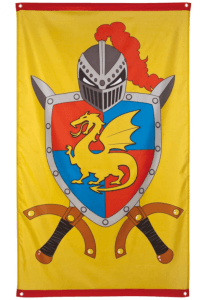Ritter Fahne gelb