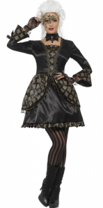 elegantes maskenball kostüm für damen