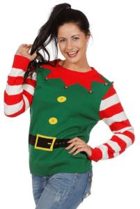 weihnachtspulli lustiger weihnachtswichtel