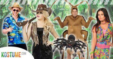 Dschungelcamp 2018 Dschungelkostüme