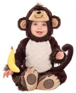 warme Faschingskostüme für Kinder - Affenkostüm