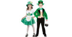 St. Patrick's Day Kinder Kostüm