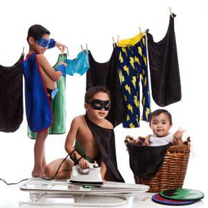 Kostüme richtig waschen