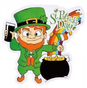 St. Patrick's Day - Kobold Wandbild