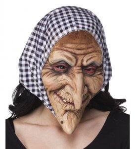 Maske Hexe