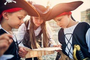 Kinder Piratenkostüm Schnitzeljagd