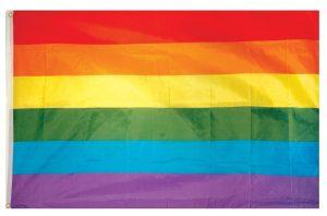 Regenbogen Fahne CSD