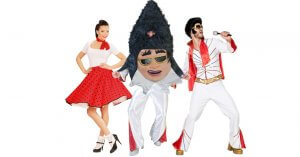 Festival Kostüm Rock