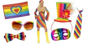 Regenbogen Kostüme