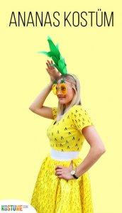 Ananas-Kostüm selber machen