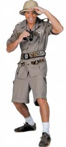 Safari Herren Kostüm