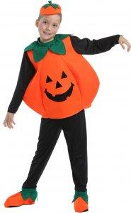 Halloween Kürbis Kostüm Kinder