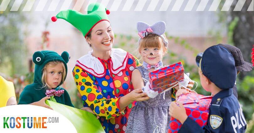 Verkleidungen für Kindergeburtstage