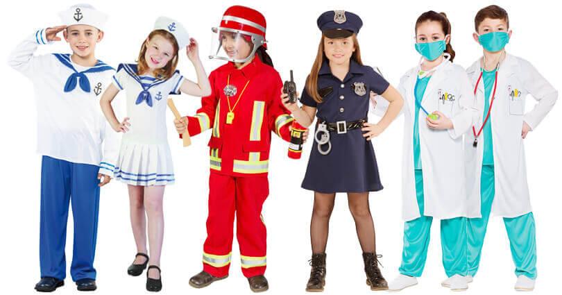Verkleidungen Kindergeburtstag Berufe