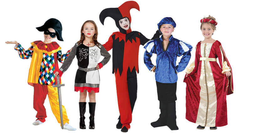 Verkleidungen Kindergeburtstag - Mittelalter