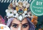 Meerjungfrau Krone selber basteln