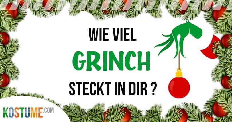 Grinch Kostüm DIY