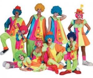 Sessionsmotto Düsseldorf - Clowns