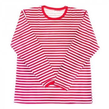Panzerknacker Kostüm selber machen - Shirt rot weiss
