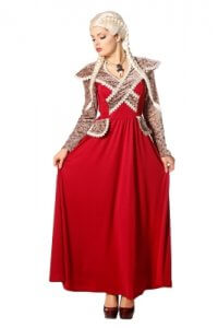 Game of Thrones - rotes Kleid
