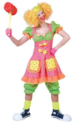 Buntes Clownkostüm Flora