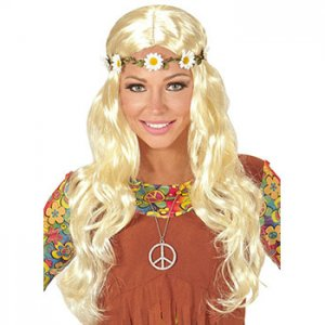 Kostümreiten - Hippie Perücke