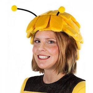 Reiten im Kostüm - Bienenmütze