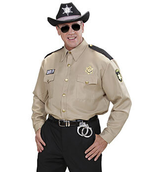 The Walking Dead - Rick Grimes Sheriff Hemd