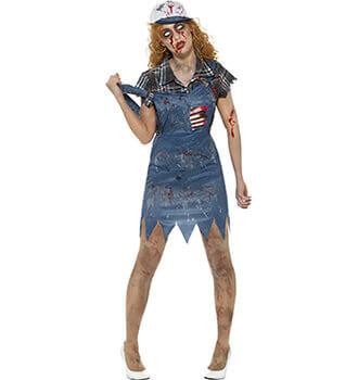 Zombie Damen Kostüm