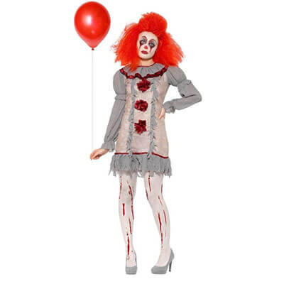 ES - Blutiges Clown Kostüm