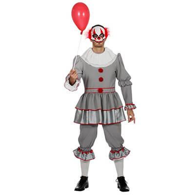 ES - Mörderischer Clown Kostüm