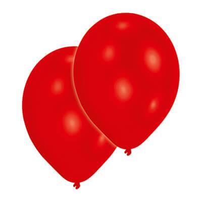 ES - rote Luftballons
