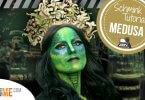 Medusa Kostüm - Tutorial Medusa Make-up