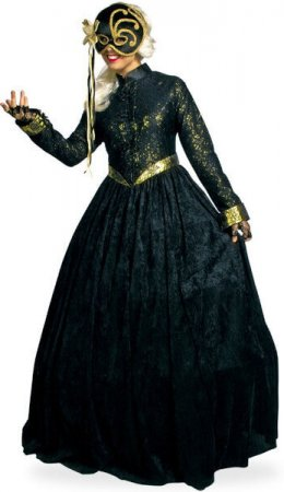 barock venedig kleid maskenball