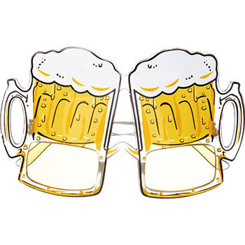 Bierkapitän Kostüm - Crewman Bier Brille