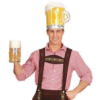 Bierkapitän Kostüm - Crewman Bier Mütze