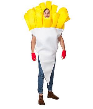 Beste Freunde - Pommes Kostüm