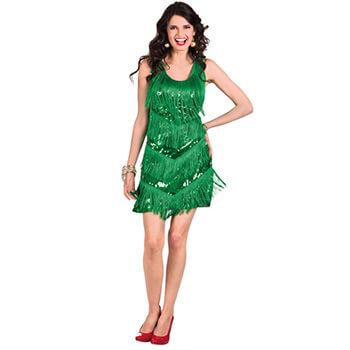 Cordula Grün Kostüm - 20er Jahre Flapper Cordula