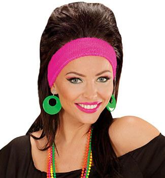 Glamour Cordula Grün - Neongrüne Ohrringe