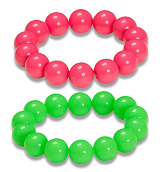 Glamour Cordula Grün - Perlenarmbänder