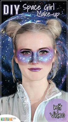 KOS - Space Girl Make up DIY