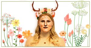 Reh schminken - Bambi Make-up