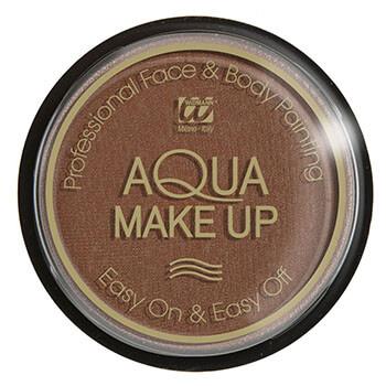 Reh schminken - Make-up braun