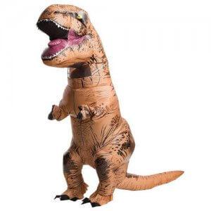 Trex Dinosaurier aufblasbares Kostüm