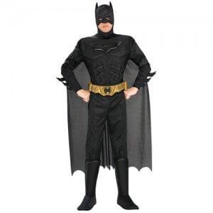 Batman Kostüm Herren Deluxe