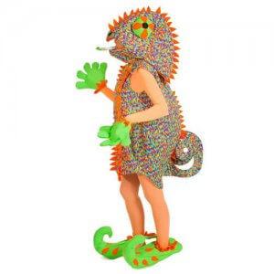 Chamäleon Ganzkörper Kostüm