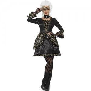 Venezianisches Barock Kleid edel Deluxe Kostüm Damen